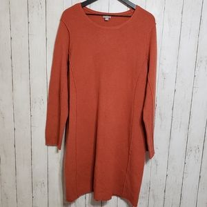 J. Jill | Italian yard rust colored sweater dress